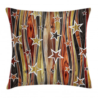 Charming Stars Art Pillow Cover