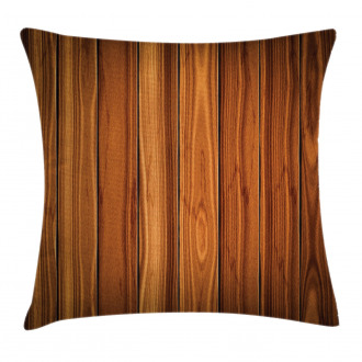 Wooden Planks Image Pillow Cover