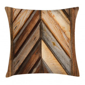 Grunge Nature Gardening Pillow Cover