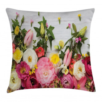 Rustic Home Rose Flowers Pillow Cover