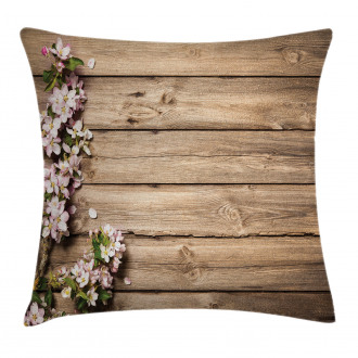 Blooming Orchard Spring Pillow Cover