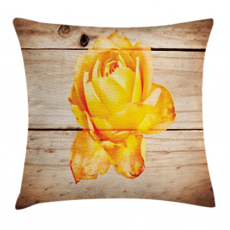 Rose Petals and Flowers Pillow Cover