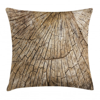 Wooden Nature Forest Pillow Cover