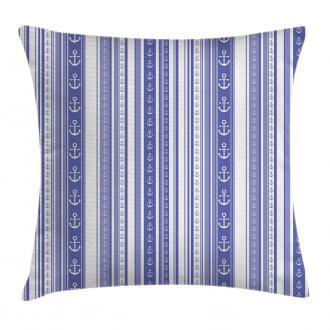 Nautical Anchor Icon Pillow Cover