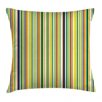 Vibrant Lines Pattern Pillow Cover