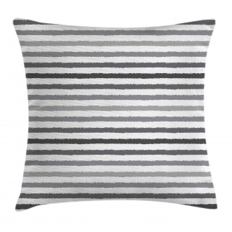 Gray and White Grunge Pillow Cover