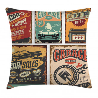 Grunge Funk Style Pillow Cover