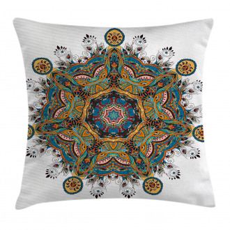 Tribal Paisley Boho Art Pillow Cover