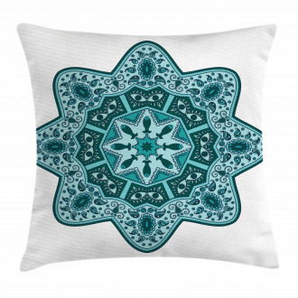 Eastern Chinese Mandala Pillow Cover
