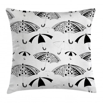 Ornate Umbrellas Pillow Cover