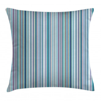 Blue Purple Geometric Pillow Cover