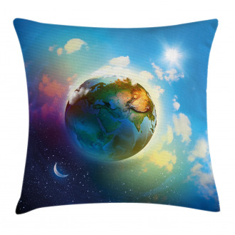 Cosmos Vibrant Scenery Pillow Cover