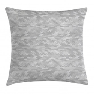 Puzzle Like Pattern Pillow Cover
