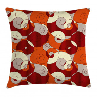 Spiral Abstract Stripes Pillow Cover