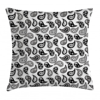Different Flowers Forms Pillow Cover
