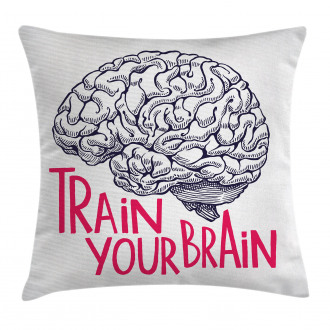 Humour Quote Pillow Cover