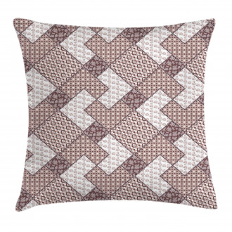 Vector Pattern Circles Pillow Cover