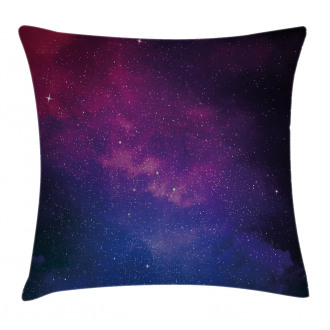Stardust Space Rainbow Pillow Cover