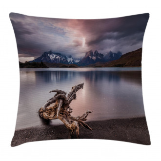 Reflections to Mountain Pillow Cover