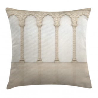 Column Arches Ancient Pillow Cover