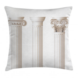 Ionic Doric and Marbles Pillow Cover
