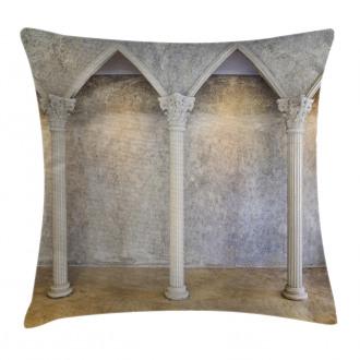 Antique Ancient Interior Pillow Cover