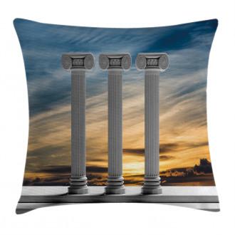Sunset Modern Antique Pillow Cover