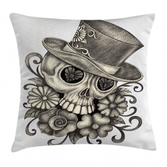 Sketch Mexican Pillow Cover
