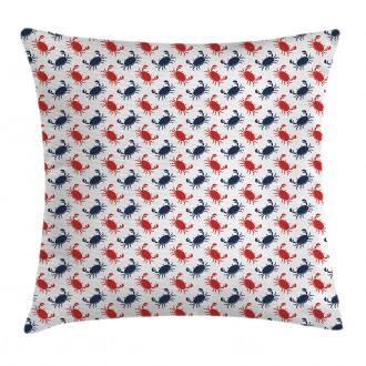 Sea Animals Theme Crabs Pillow Cover