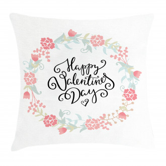 Buds Roses Tulip Pillow Cover
