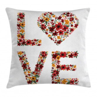 Garden Fowers Pillow Cover