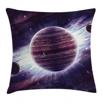 Outer Space Planets Mars Pillow Cover