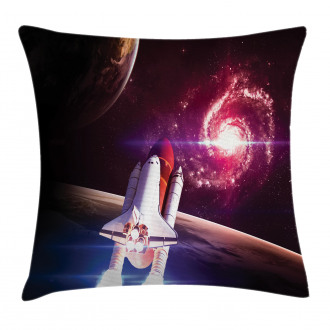 Milky Way Galactic Theme Pillow Cover