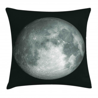 Trippy Moon Planet Space Pillow Cover