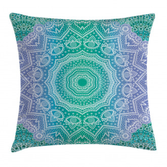 Mandala Geometric Figure Pillow Cover