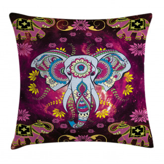 Oriental Space Effects Pillow Cover