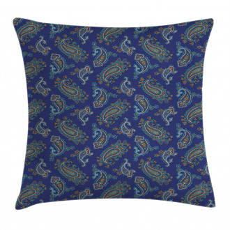 Ethnic Droplet Motif Pillow Cover