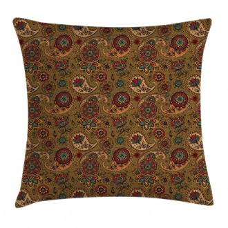 Vintage Authentic Motif Pillow Cover