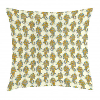 Ethnic Boho Culture Leaf Pillow Cover