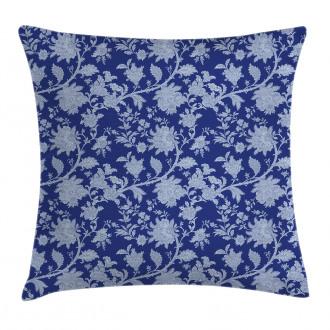 Paisley Pattern Ottoman Pillow Cover