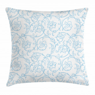 Bohemian Vintage Orchids Pillow Cover