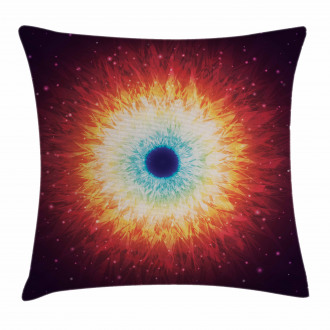 Galaxy with Magical Stars Pillow Cover