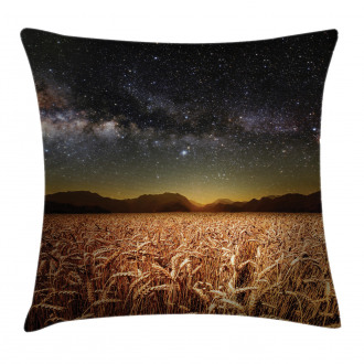 Star Clusters in Twilight Pillow Cover