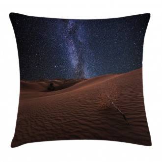 Desert Lunar Life on Mars Pillow Cover