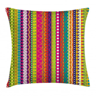 Ethnic Vintage Forms Pillow Cover