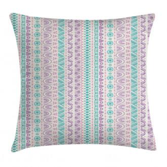 Geometric Ancient Art Pillow Cover