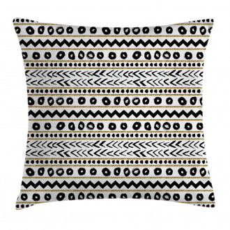 Abstract Primitive Figures Pillow Cover