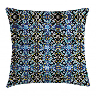 Eastern Arabic Pattern Pillow Cover