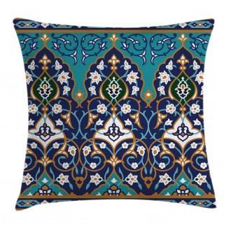 Abstract Navy Design Pillow Cover