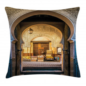 Old Moroccan Motif Pillow Cover